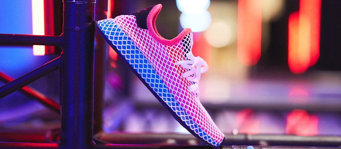 Red adidas Originals Deerupt