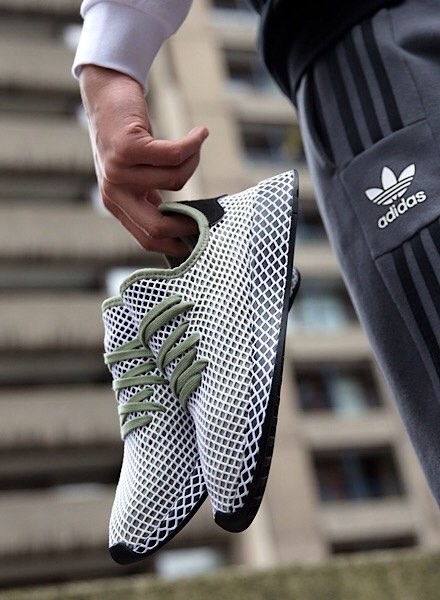 Green adidas Originals Deerupt