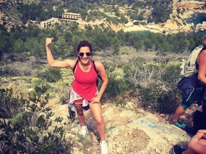 Caroline flack the body camp