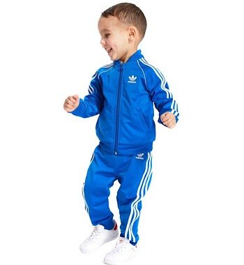 blue Superstar Tracksuit