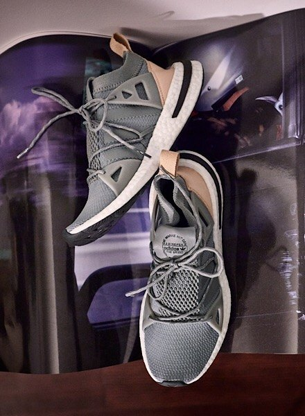 grey adidas Arkyn