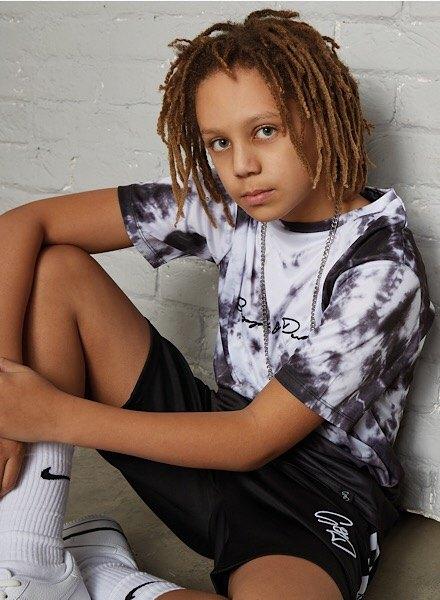 kids' supply & demand all over fade t-shirt