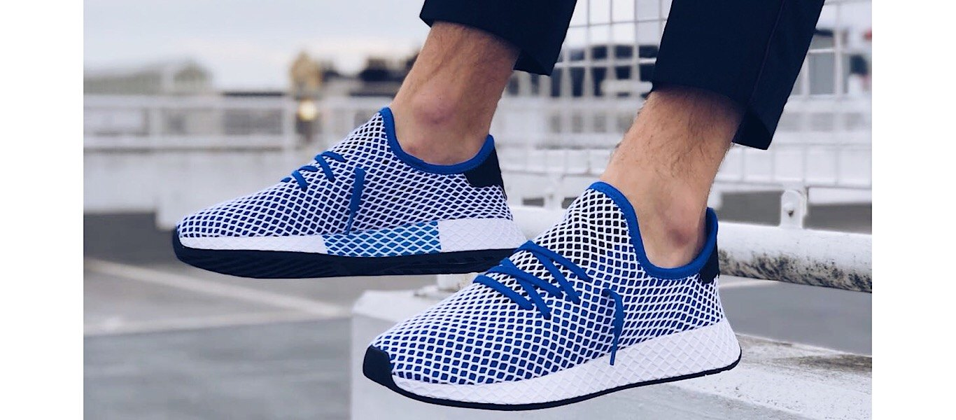 adidas Originals deerupt blue