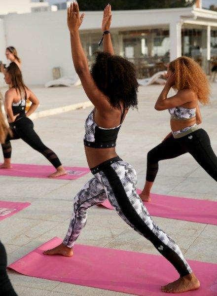 yoga pink soda