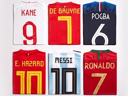 world cup shirts