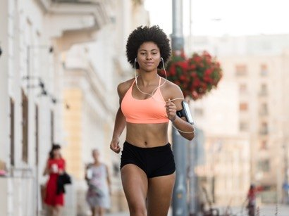 run to tone up your body