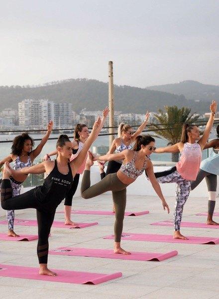 Yoga good vibes