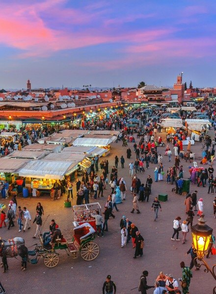 Marrakesh in Morocco