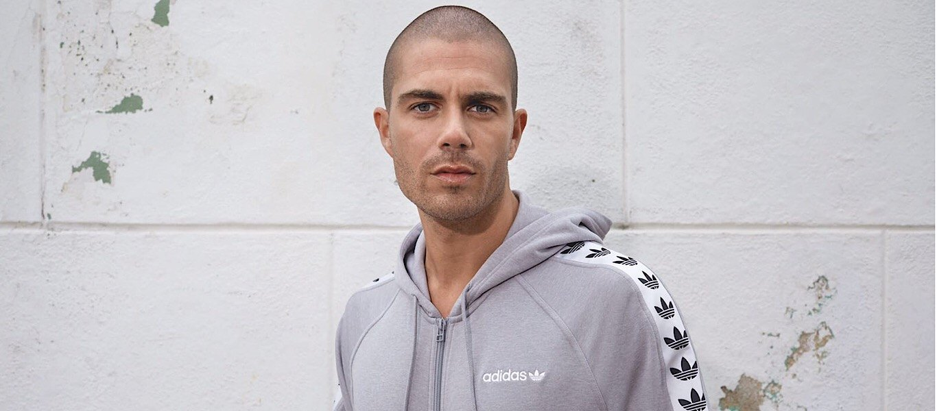 Max George in adidas