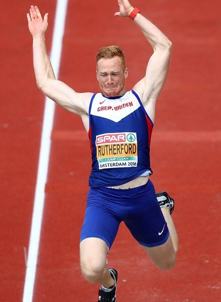 Greg Rutherford Olympic Long Jumper