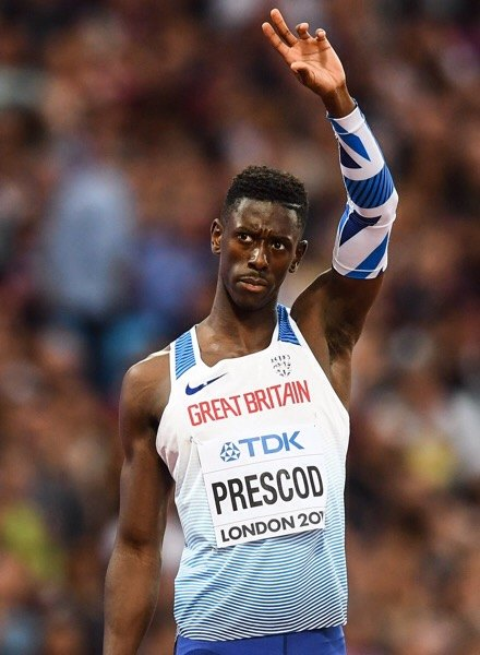 IAAF World Athletics Championships 2017 Reece Pescod