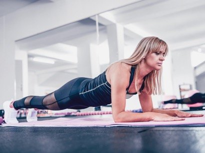 Planking core exercise