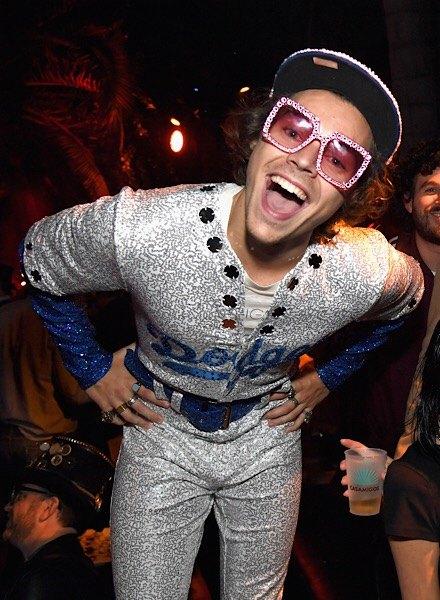 Harry Styles as Elton John