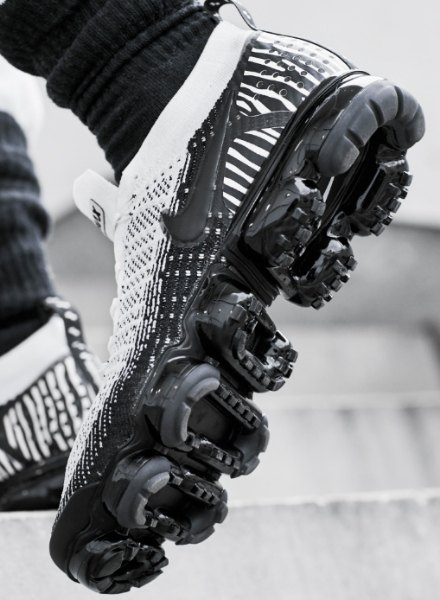 Nike vapormax zebra