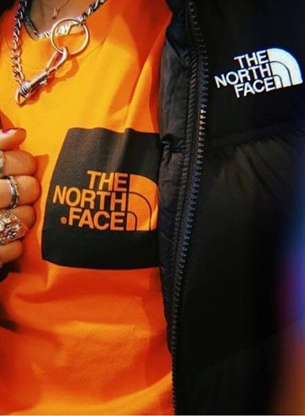 Jess Law in The North Face