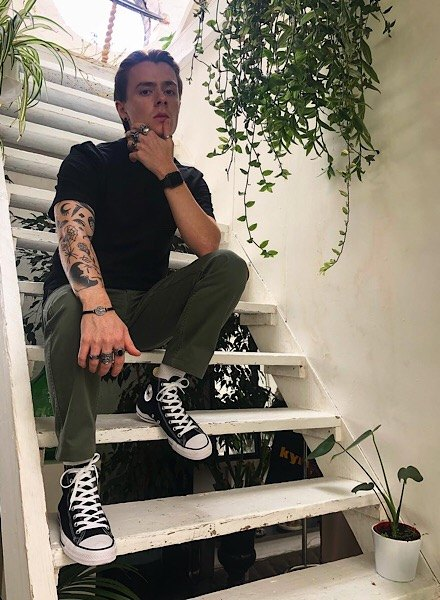 jack thake in converse hi tops