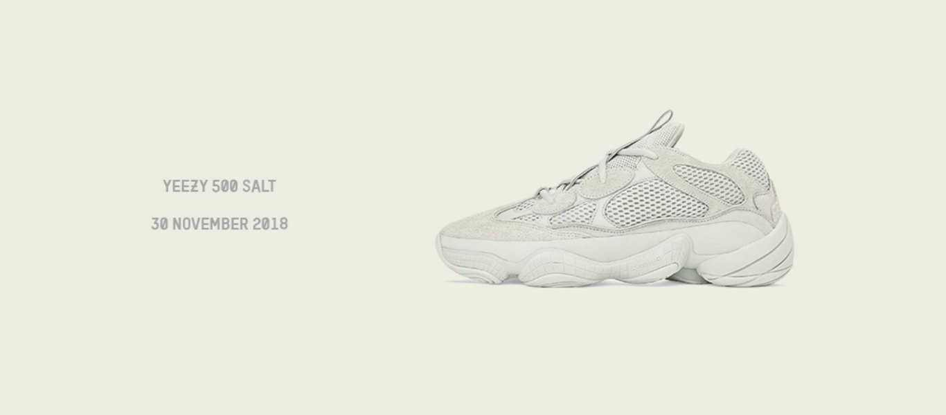brand new a3a59 02869 THIS WEEK: Yeezy 500 'Salt' Launch | JD Official