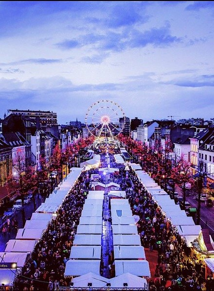 Brussels Belgium Christmas markets