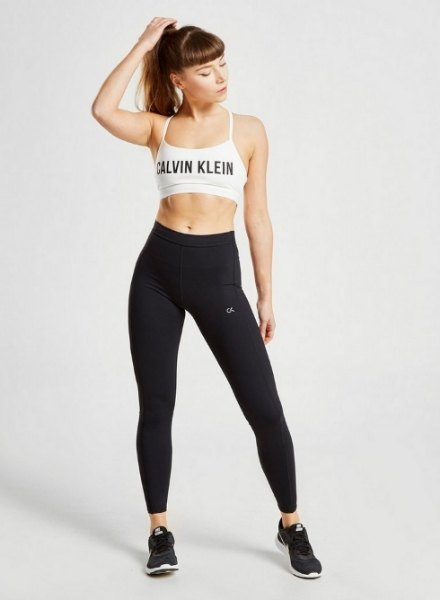 calvin klein performance gym outfit