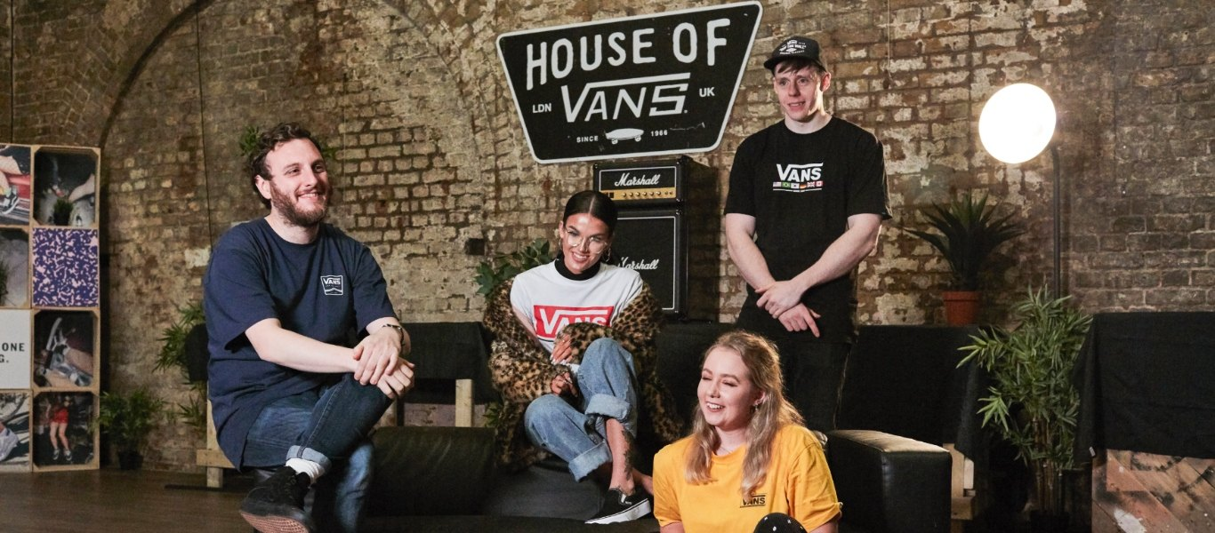 artists at house of vans event