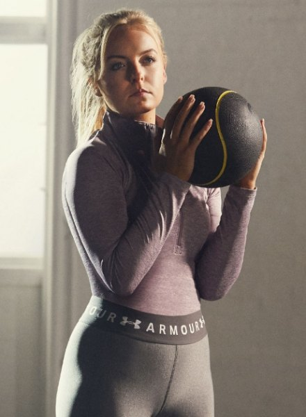 bronte king in under armour