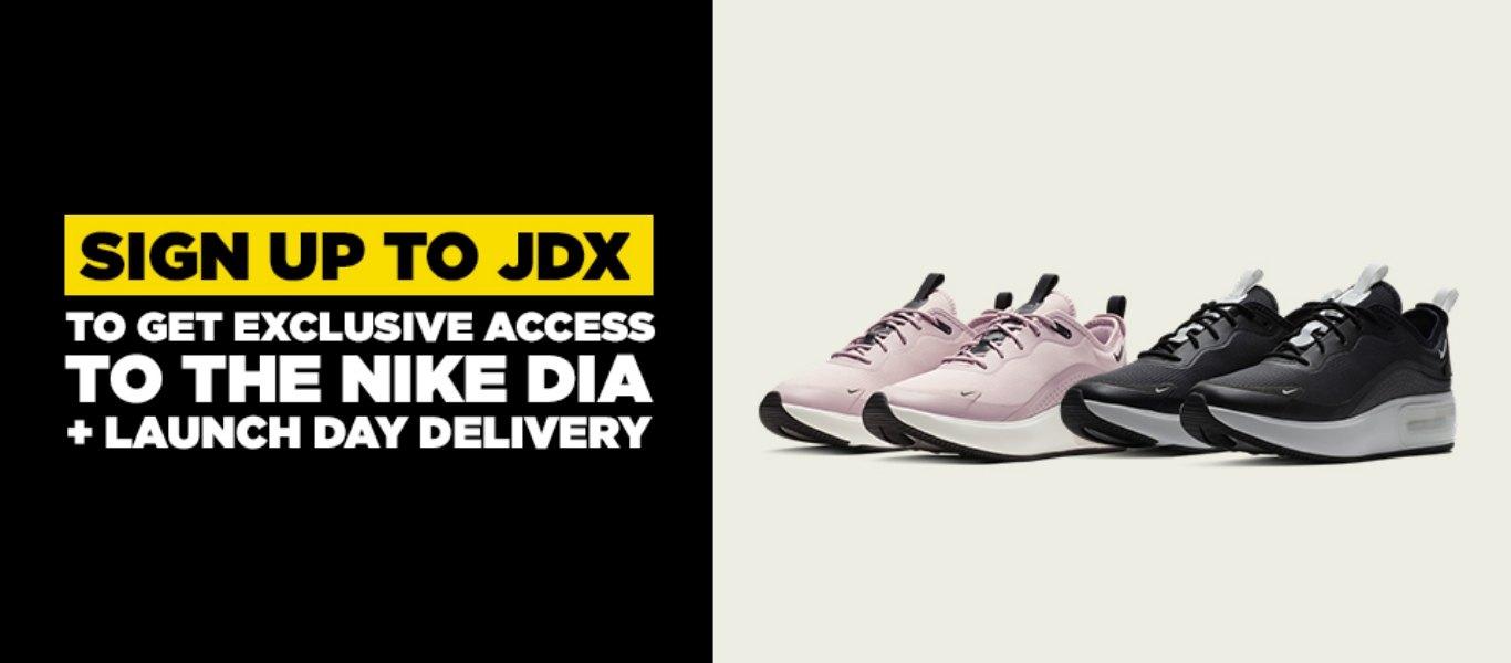 Air Max Dia exclusive access
