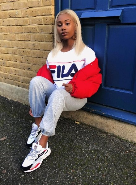 influencer in fila