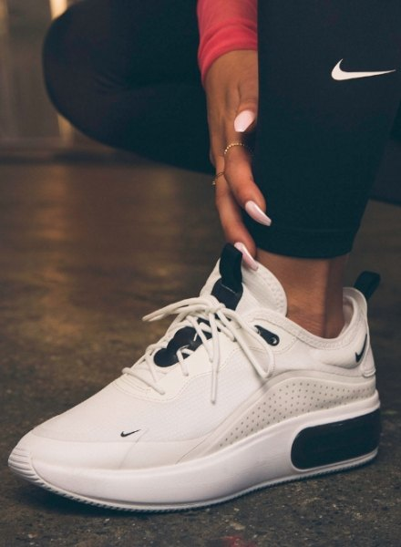 white Air Max Dia