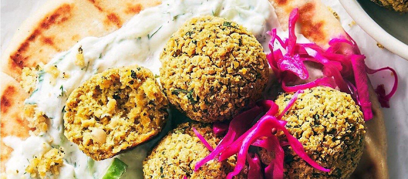 falafel healthy recipe