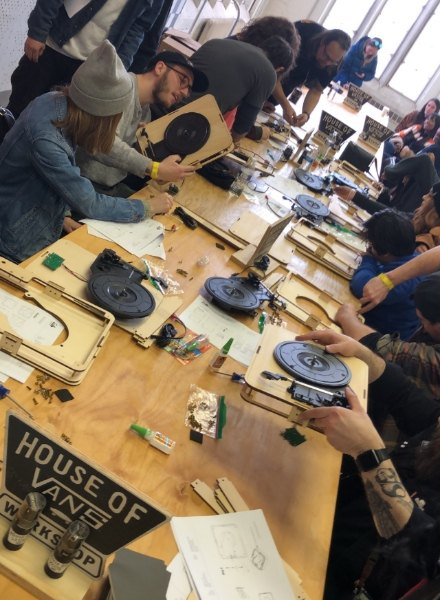 vans workshop at event