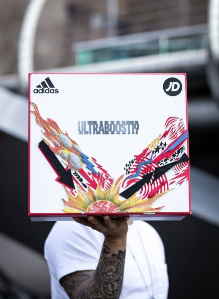 ben with ultra boost