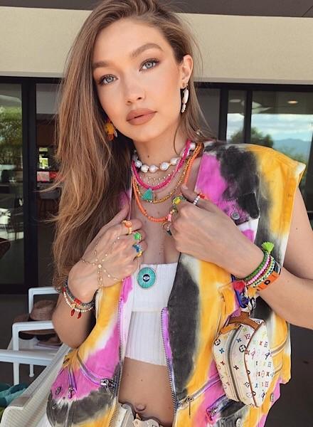 Coachella Festival SZN Gigi Hadid