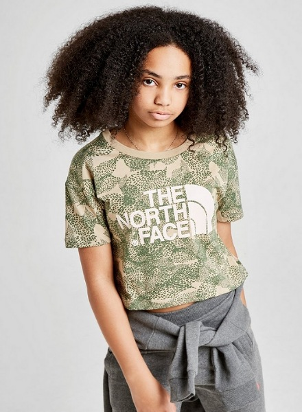 junior girls' TNF t-shirt