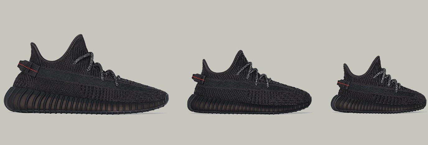 JDX Exclusive Access: Yeezy Boost 350 v2 'Black' JD Official  JD Official