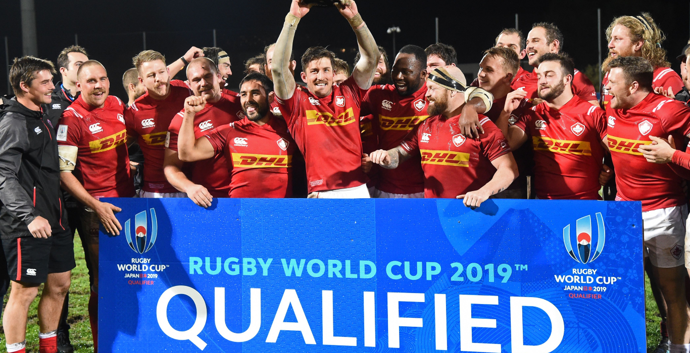 canada qualifying for the RWC 19