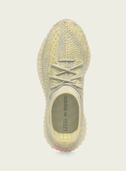 top view of yeezy antlia