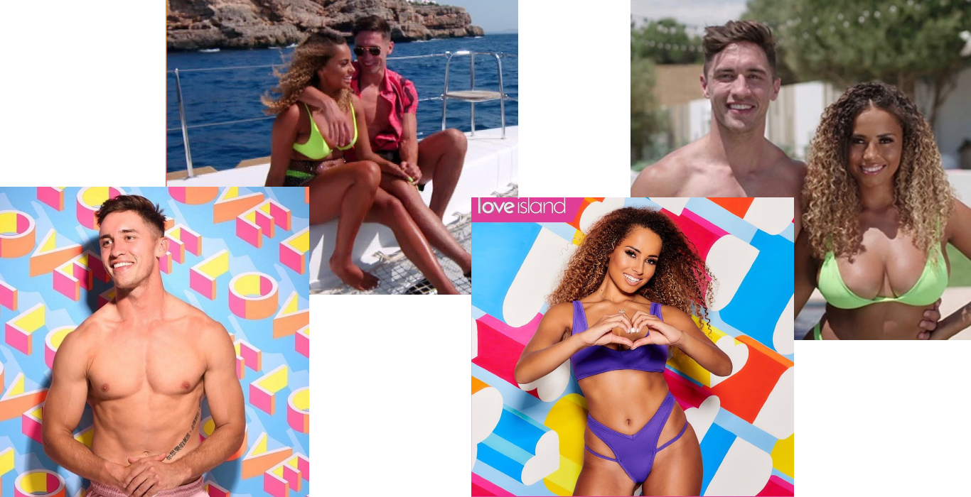 amber and greg love island