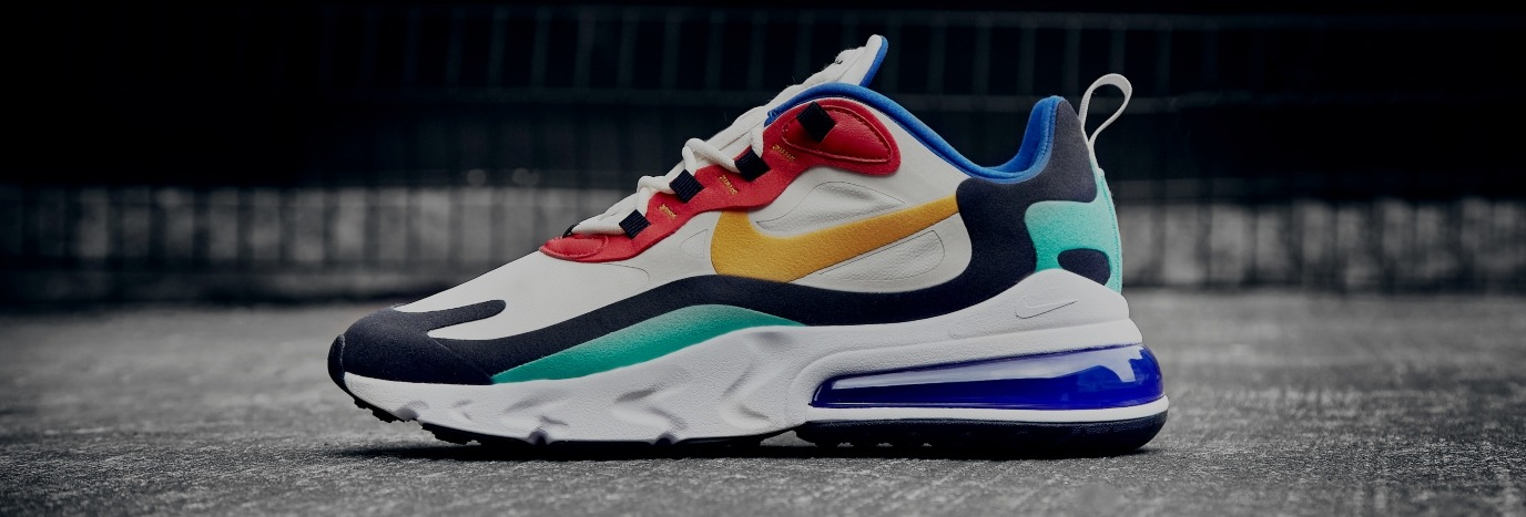 info for d98a0 279d5 Nike's Air Max 270 React Gets Re-Imagined | Influencer Style ...