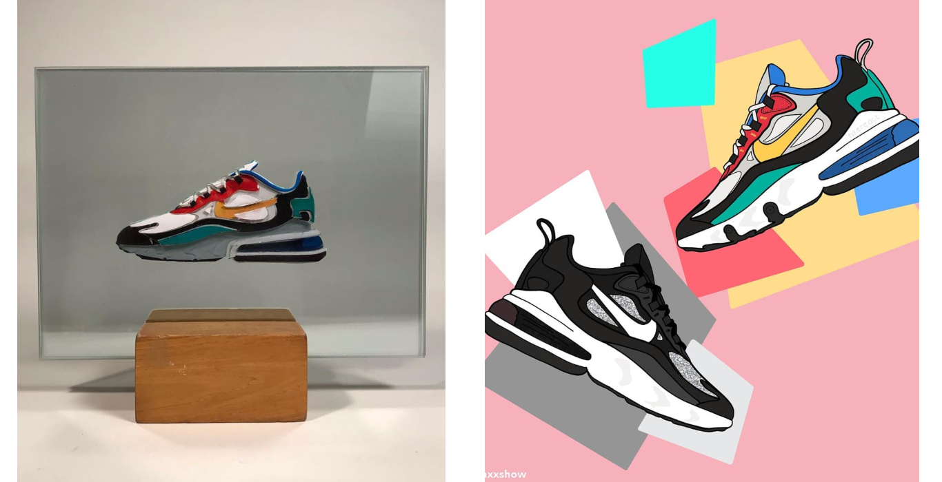 Nike's Air Max 270 React Gets Re Imagined | Influencer Style