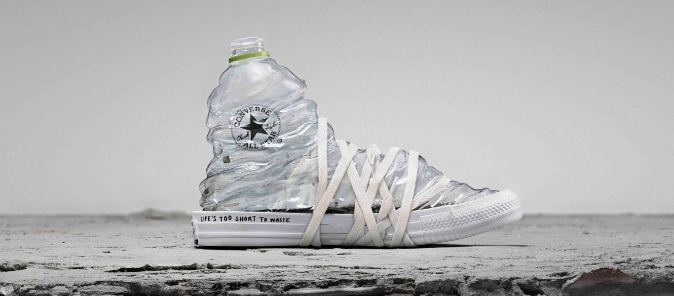 converse renew plastic bottle