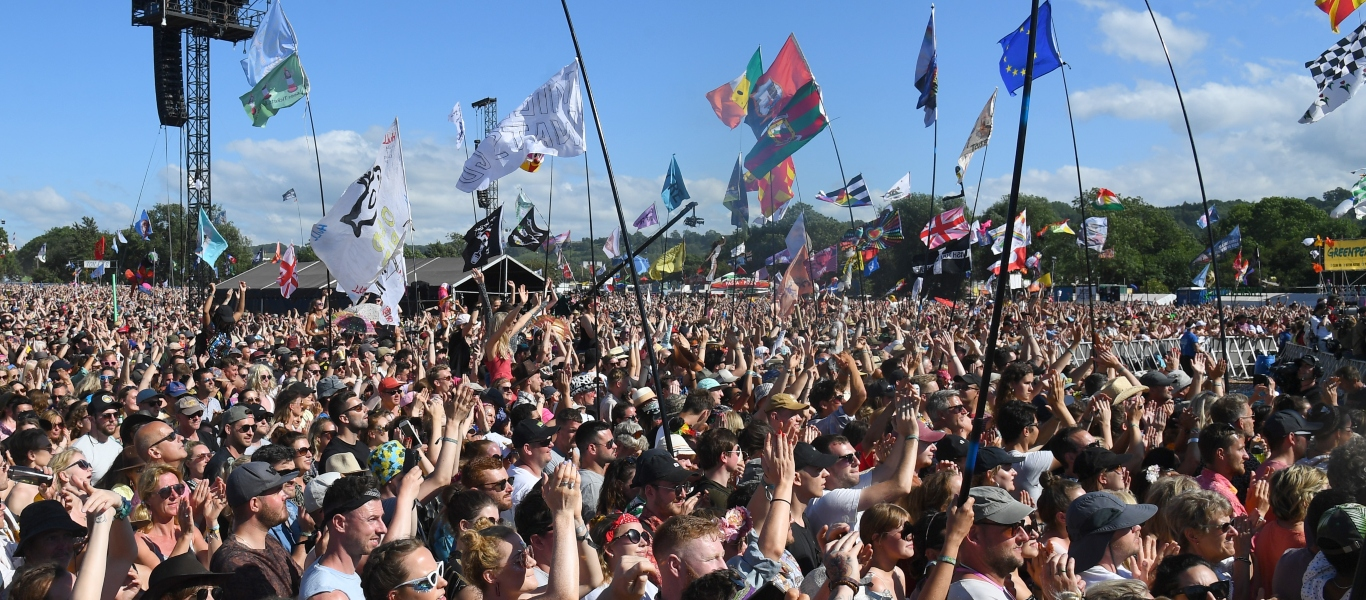 Glastonbury 2019 crowd