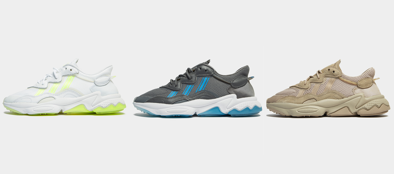 Ozweego colourways