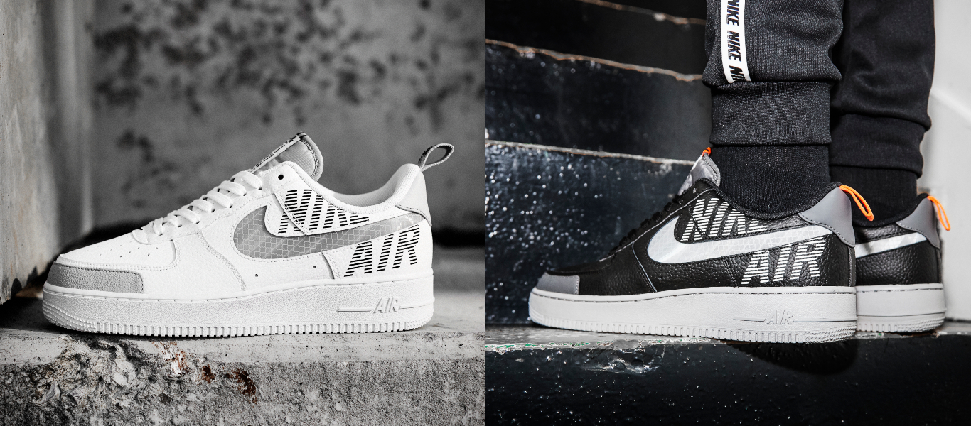 air force 1 utility white and black