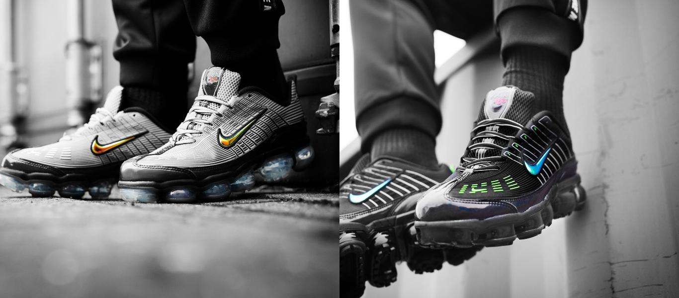 Nike Air VaporMax 360 gris et noir