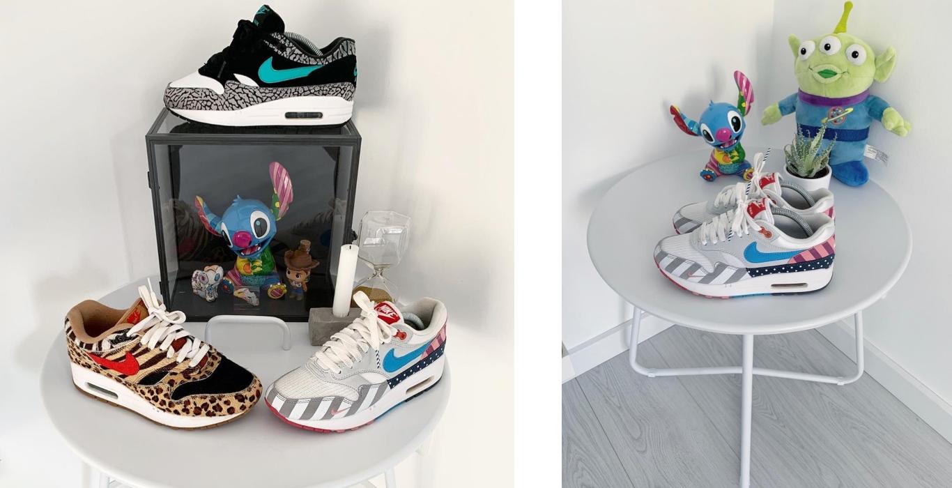 coleção sapatilhas rebecca Aleyna