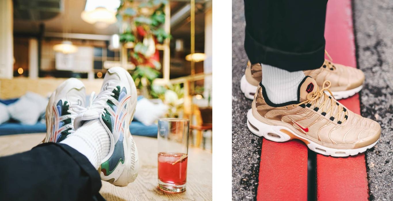 coleção sapatilhas claude renard