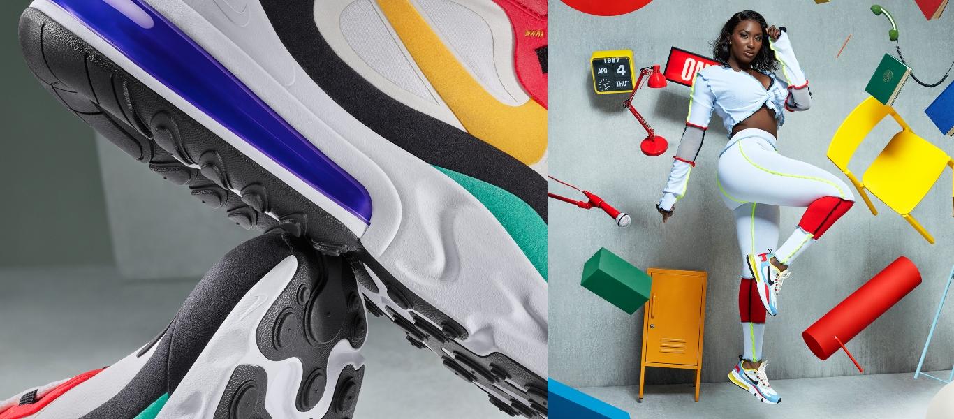 Nike 270 de mulher