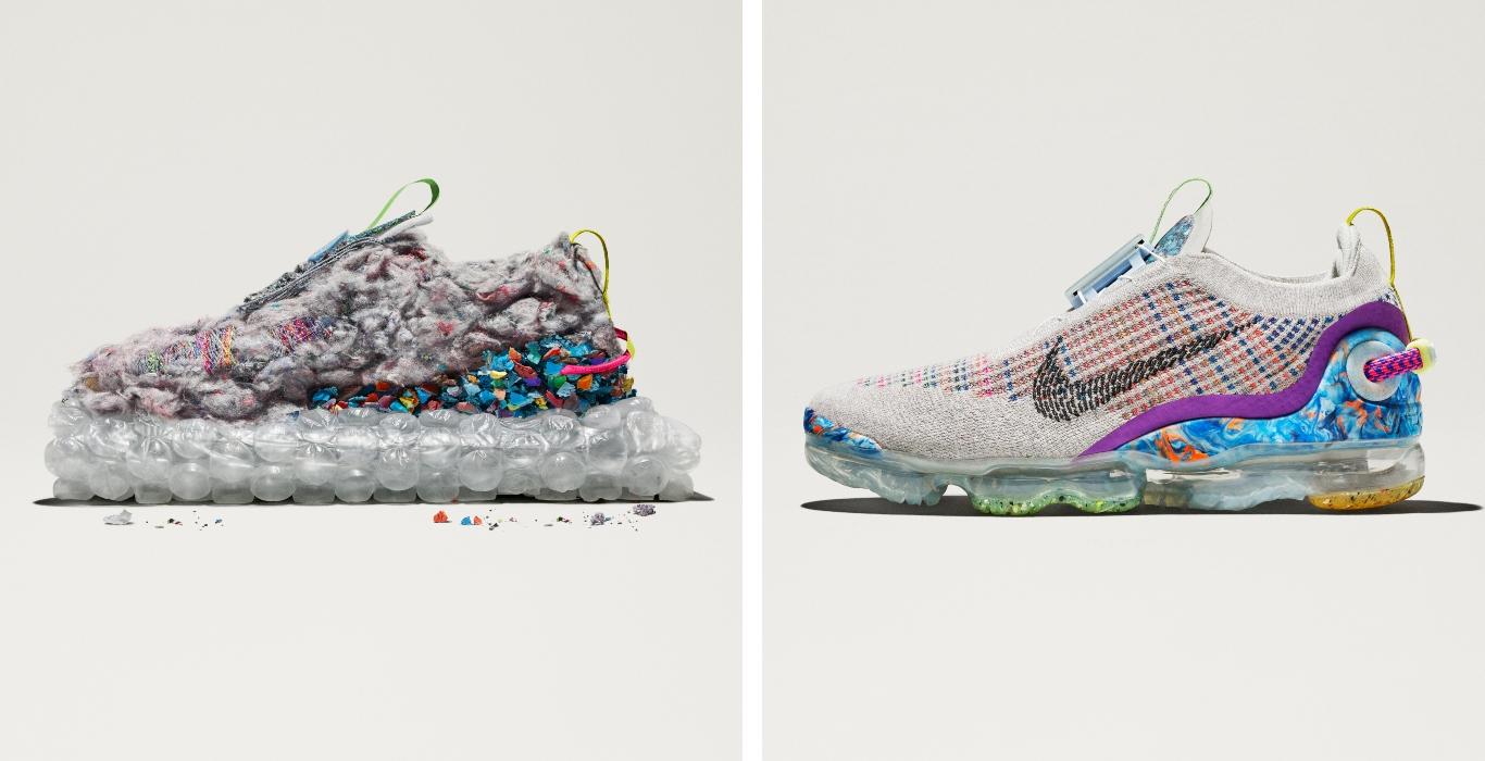 Las Nike Vapormax 2020 hechas de material reciclado
