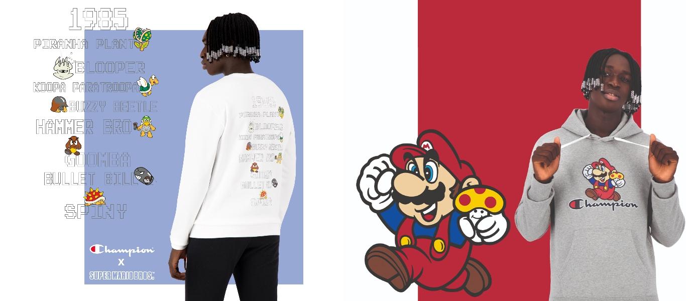 Champion x Super Mario