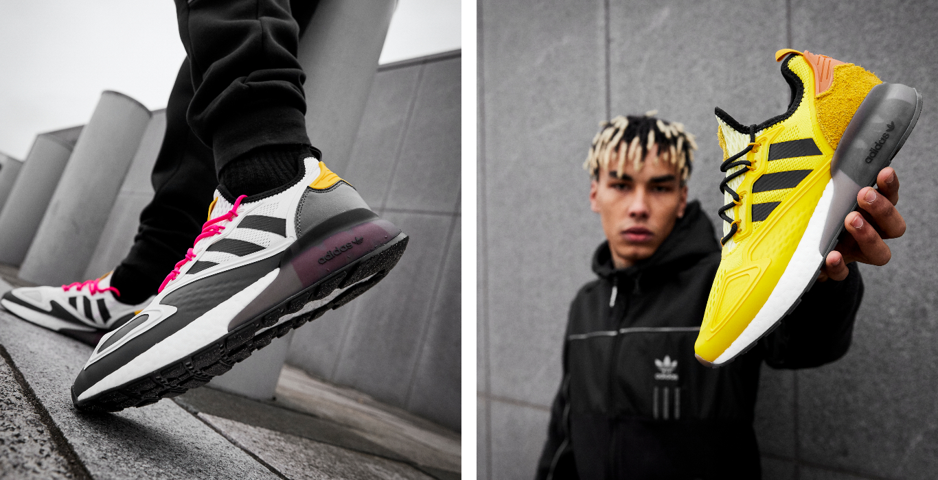 ninja x adidas zx 2k boost brancas